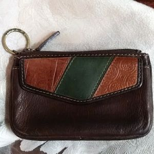 Fossil key and card/cash holder